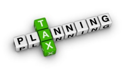 Tax Planning Starts Now!